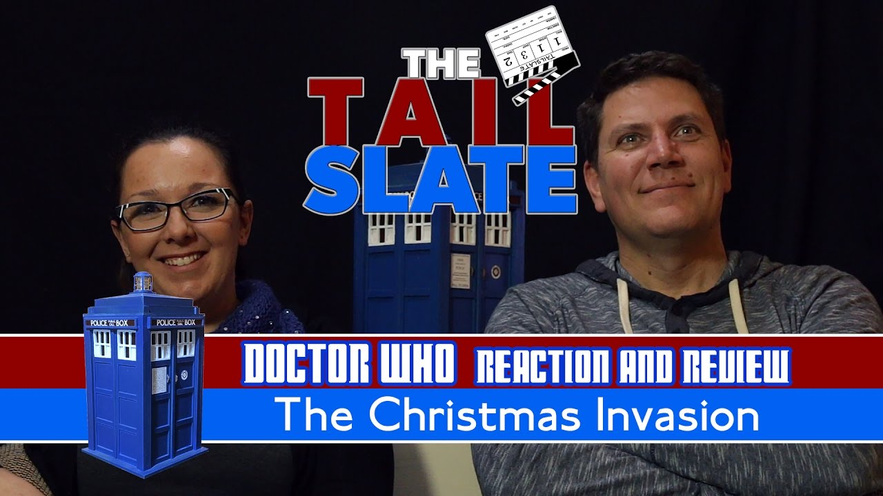 Doctor Who Reaction & Review - The Christmas Invasion - YouTube