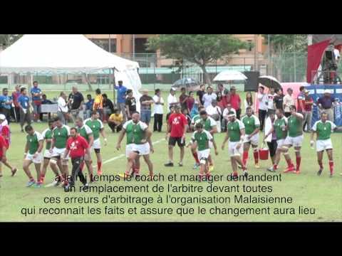 Quelques erreurs d'arbitrage match finale Algérie Vs Malaisie Cresent Cup 2015