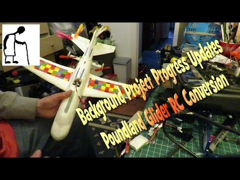 Background Project Progress Updates - Poundland Glider RC Conversion