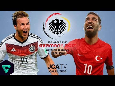 Germany vs. Turkey | Group A | 2017 JCA World Cup Germany | PES 2017 - Duur: 26:15.