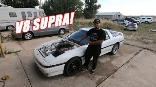 Emilio's Supra Has An Engine!