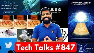 Tech Talks #847 - Vivo 120W Charge, Note 10 Pro, Realme India, Vivo Z1 Pro India, Moto One Vision