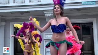 FIFA 2014. Бразильский карнавал, велопробег и фан зона(Видеоновости РИА
