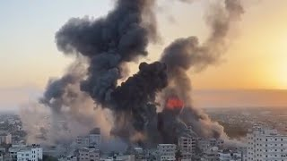 Israeli Defense Forces Going After Hamas Terrorists And Strike Target After Target, In Gaza