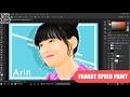 OH MY GIRL Arin Fanart photosop Vector X Vexel  [SpeedPhase]