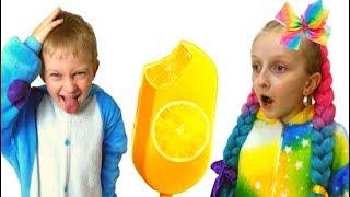 Tawaki Kids and ice cream fun kids story