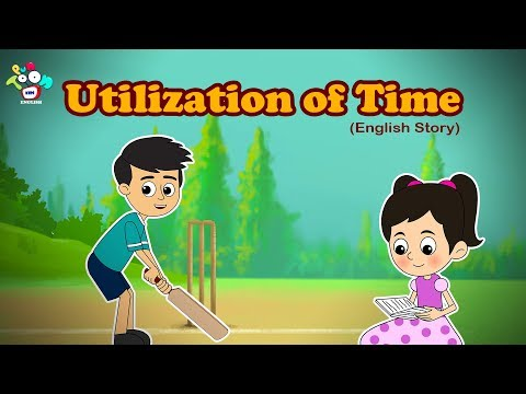 Importance Of Time - Right Use Of Time - English Stories For Kids - Bedtime Stories For Children