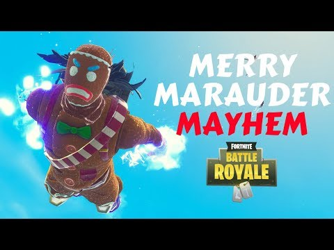 MERRY MARAUDER MAYHEM | MY 1400TH WIN | 18 KILLS SOLO - Fortnite Battle Royale