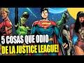 5 Cosas que odio de la Justice League - Criticas Banana