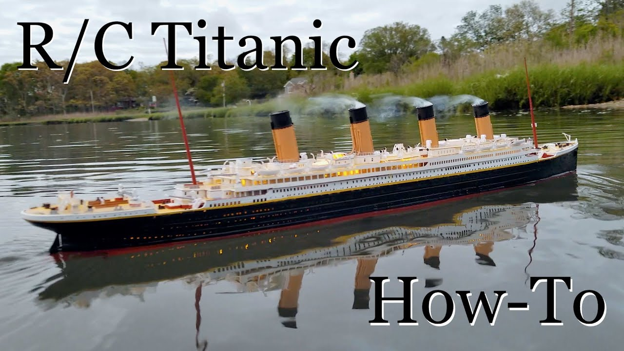 Toys R Us Titanic Model : R c titanic model how it s made youtube