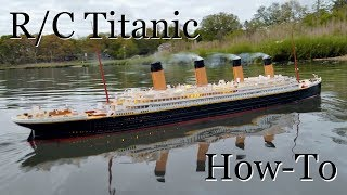 R/C Titanic Model: How It's Made