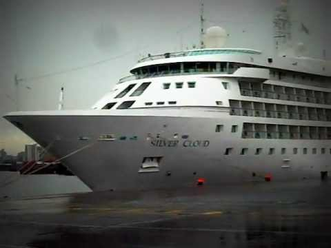 Silver Seas / the sliver cloud cruiseship 4th August 2011 / Dublin port