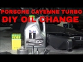Gambar cover Porsche Cayenne Turbo DIY Engine Oil Change