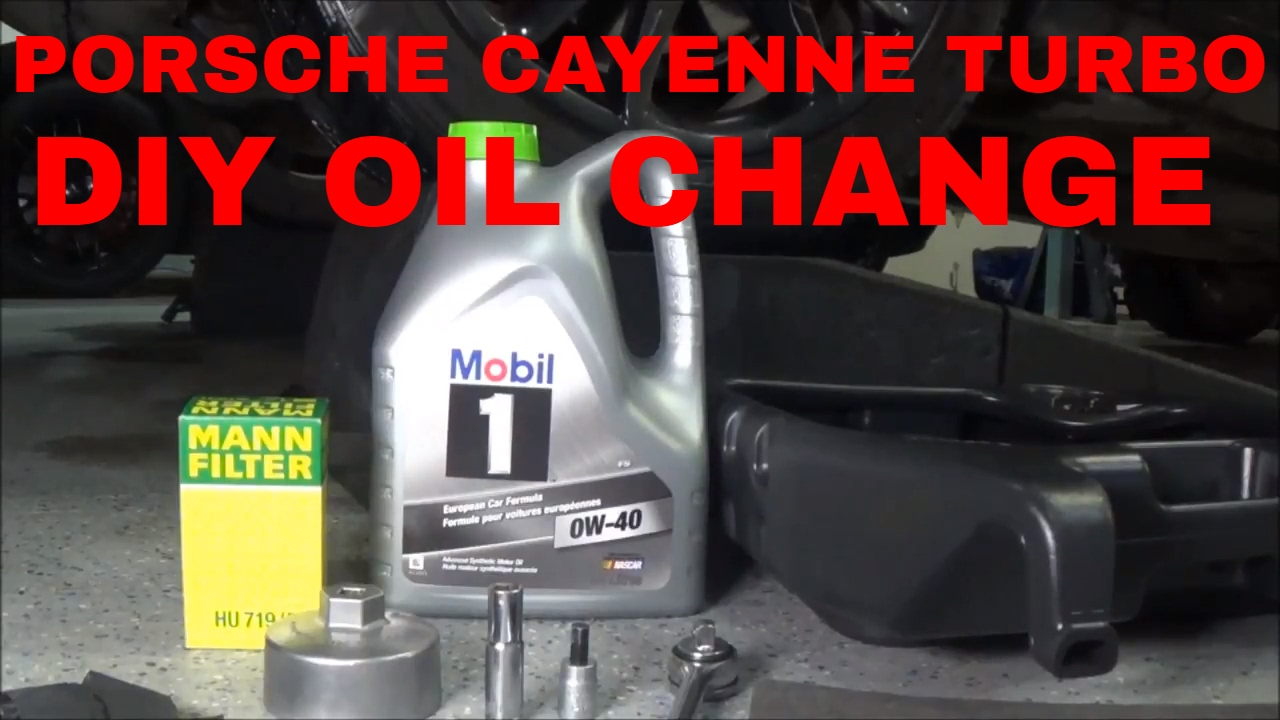 Porsche Cayenne Turbo Diy Engine Oil Change