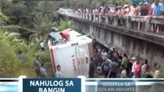 Saksi: Pampasaherong bus, nahulog sa bangin sa Southern Leyte
