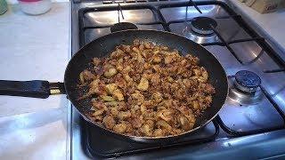 Как ПОЖАРИТЬ МЯСО на сковороде, чтоб оно было МЯГКИМ,СОЧНЫМ и ПОДЖАРИСТЫМ одновременно!?
