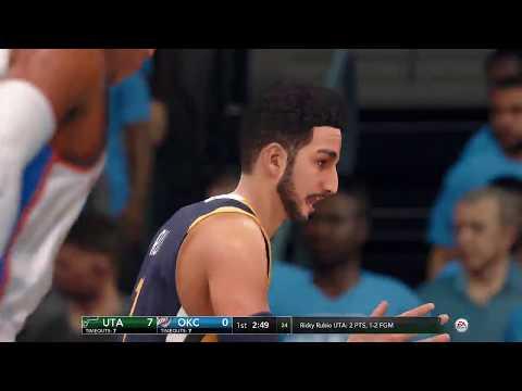 NBA LIVE Playoffs 2018 Utah Jazz vs Oklahoma City Thunder Full NBA Game | NBA LIVE 18