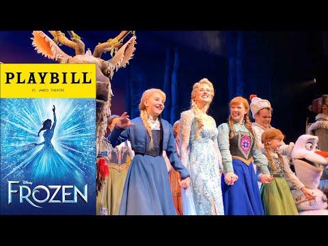 Frozen Musical - Curtain Call - 3/23/18