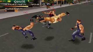 Fighting Force (PSX) Speedrun (Smasher - Hard) in 1:17:19