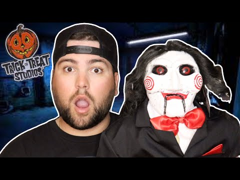 Download Billy the Puppet (Saw Franchise)   Trick or Treat Studios Unboxing