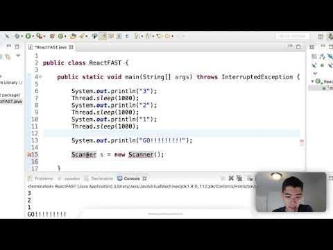 Practice Java Program - Build Your Own Reaction Timer