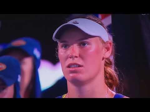 Finala Australian Open 2018 Festivitatea de premiere cu Simona Halep