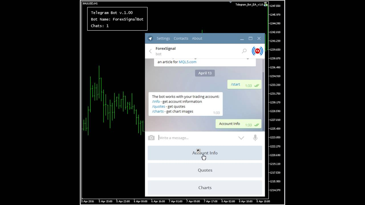 Forex bot telegram