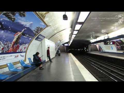 Walk around Daumesnil Metro Station in Paris