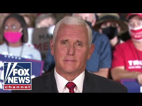 Pence: Americans 'deserve an answer' on Hunter Biden scandal