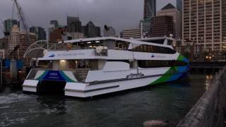 "San Francisco Bay Ferry ""Bay Breeze"" & ""Hydrus"" San Francisco California [Hyperlapse]"