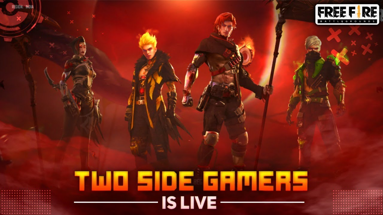 GARENA FREE FIRE LIVE - TWO SIDE GAMERS