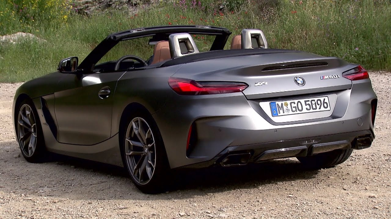 2019 Bmw Z4 Frozen Grey Exterior Interior Driving Youtube