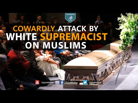 Cowardly Attack by White Supremacist on Muslims - Moutasem Al-Hameedi