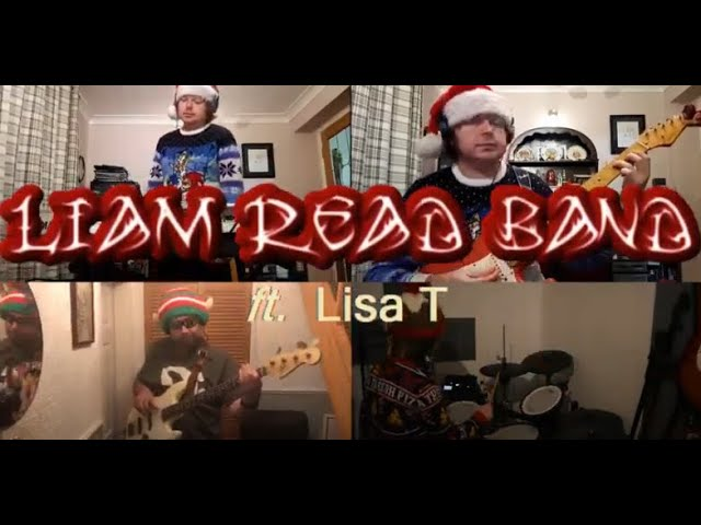 Merry Christmas from the Liam Read Band ft. Lisa T!
