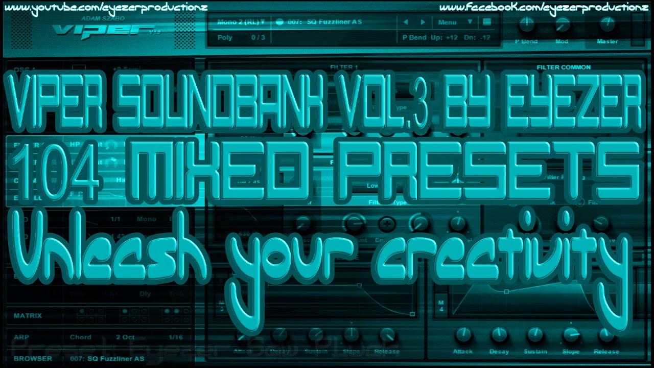 Eyezer Viper Soundbank Volume 1 [Adam Szabo Viper]