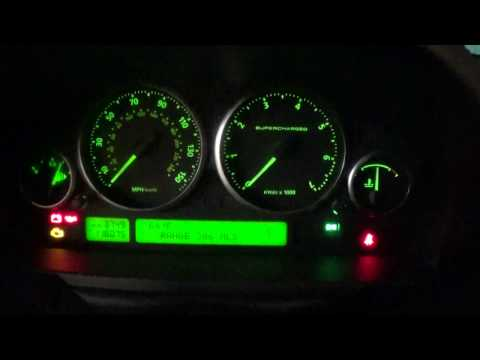 2007 Land Rover Supercharged With Low Coolant Message