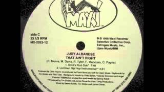 Judy Albanese - That Ain