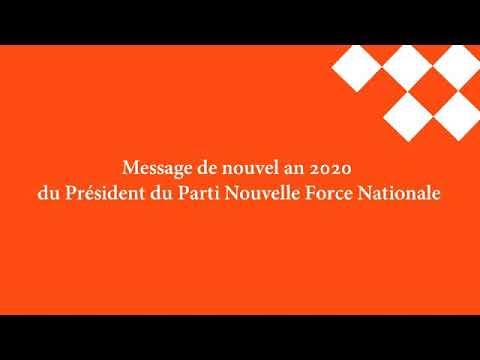 Message De Nouvel An Du Président De La Nfn
