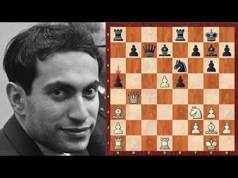 Chess Genius: Mikhail Tal (Magician from Riga!) 1955-58 Selected Instructive Games