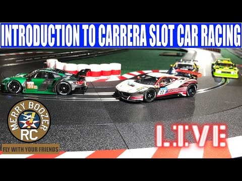 Introduction To Carrera Slot Car Racing 1/32 1/24 Scale Digital