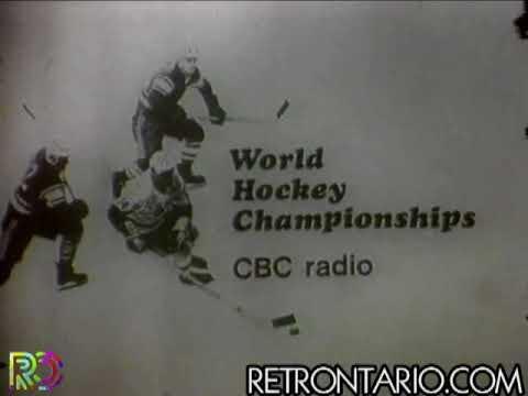 CBC Radio World Hockey Championships promo [Don Chevrier] (1969)