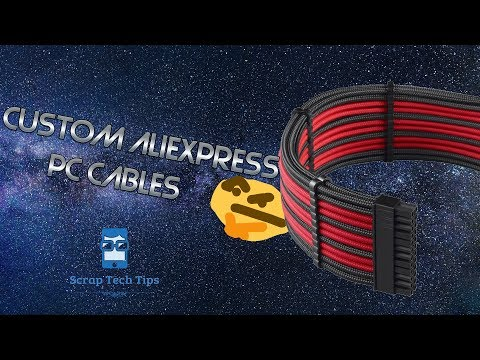 Custom AliExpress  PC Cables Is It Worth It?