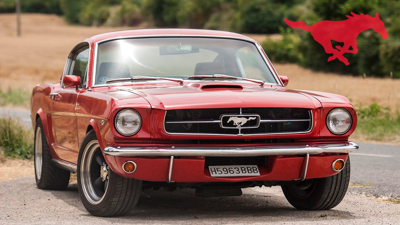 Ford mustang fastback 65 restomod in spain