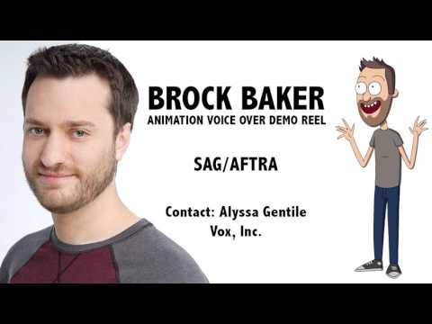 Brock Baker - Animation Voice Over Demo Reel