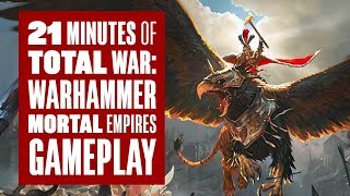 21 minutes of Total War: Warhammer Mortal Empires Gameplay