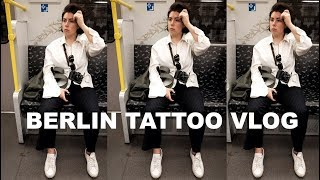 GETTING MY BIGGEST TATTOO YET | Berlin Travel Vlog (Day 1)