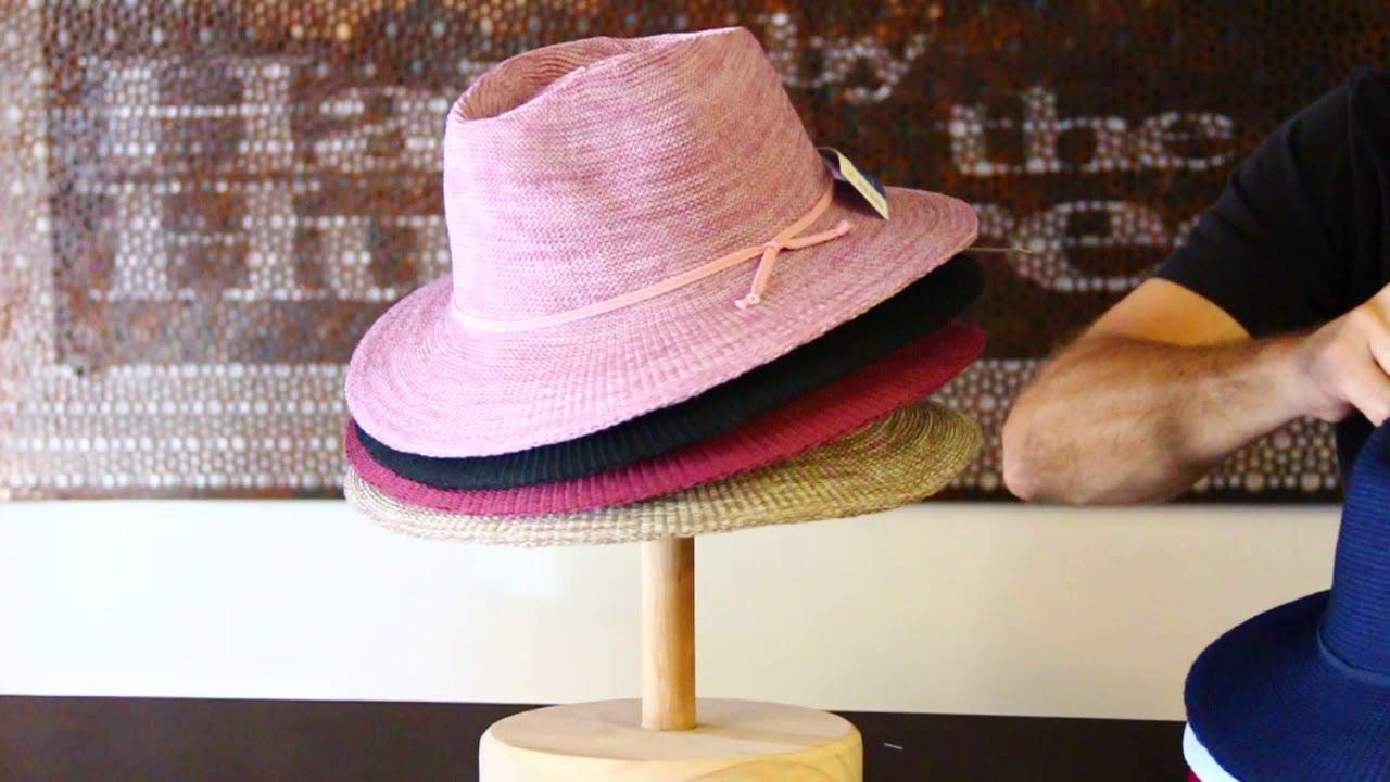 Beige Cancer Council Ladies Jacqui Mannish Hat