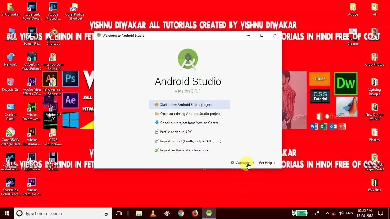 Android Studio Part 3 SDK installation and configuration