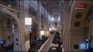 Pielgrzymka Franciszka na Litwę: Spotkanie z kapłanami, osobami konsekrowanymi w katedrze w Kownie