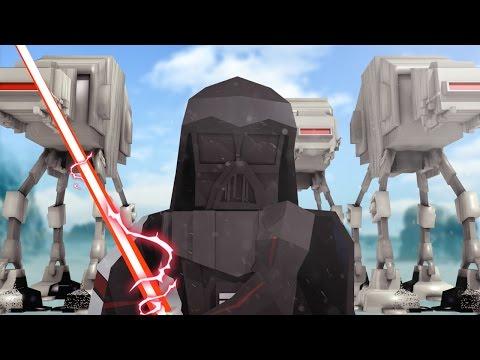 Minecraft | Good vs Evil - STAR WARS HOTH INVASION! (Darth Vader vs Luke Skywalker)
